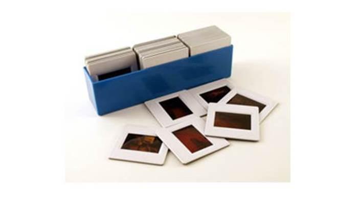 Alte Dias und Negative scannen für das Fotobuch