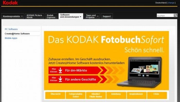 Das Last Minute-Fotobuch von Kodak - Schritt für Schritt erklärt