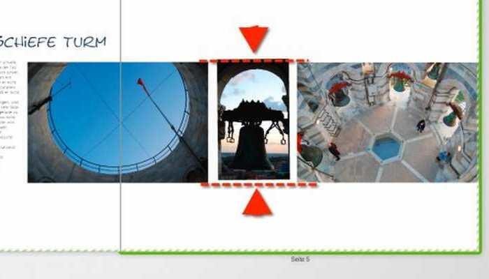 Schlusskorrekturen beim Fotobuch
