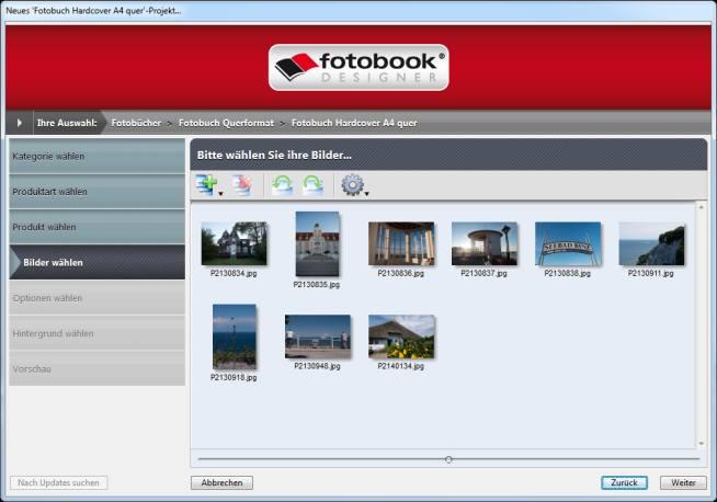 Fotobuch Assistent fotobook.de