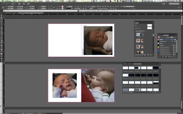 Fotobuch Anbietersoftware vs Layoutprogramm Indesign