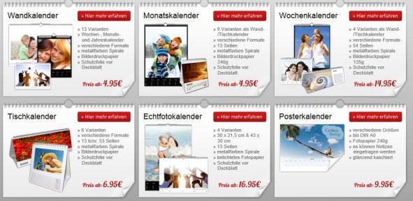 Auswahl Fotokalender.com