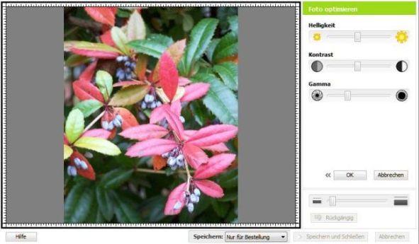 Bildeditor Fotokalender 2013 Fotokasten