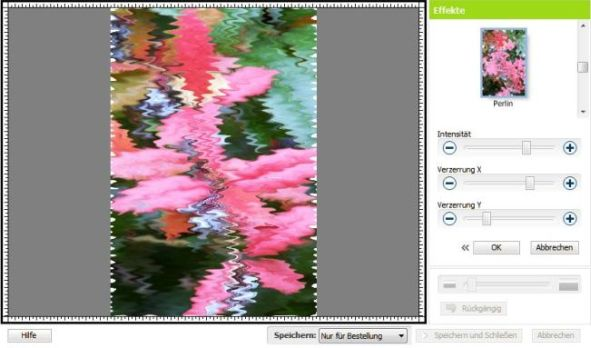 Bildeditor Effekte