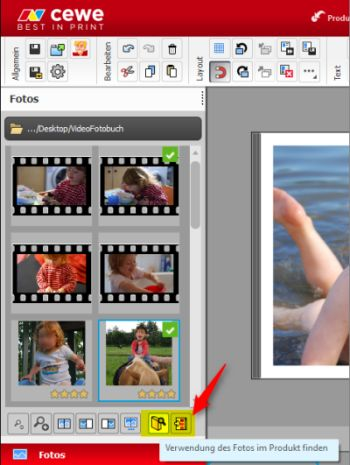 CEWE-Video Fotobrowser Neu
