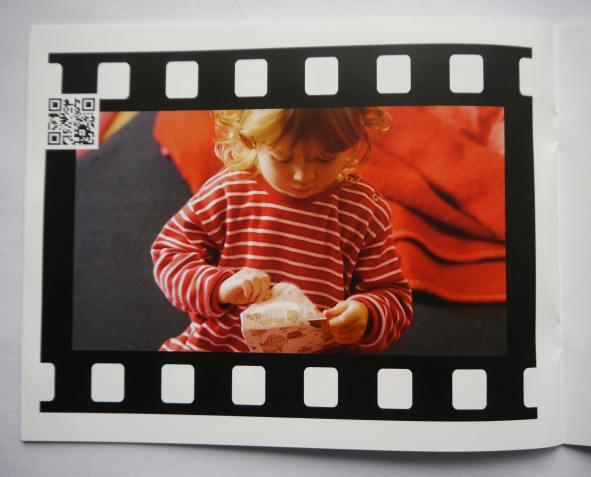 CEWE Video Fotobuch Ergebnis QR Code