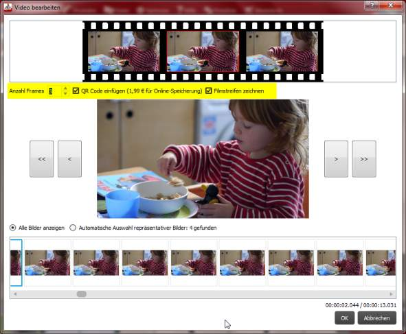 CEWE Video Videoeditor neu