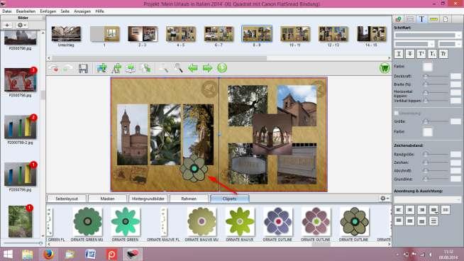 Canon Fotobuch Cliparts