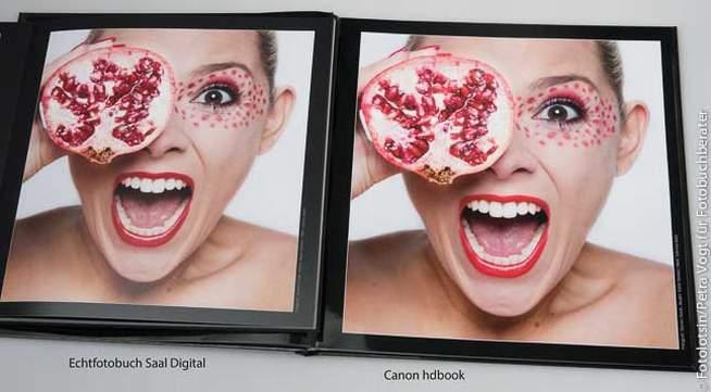 Canon Fotobuch vs. Saal Digital Fotobuch