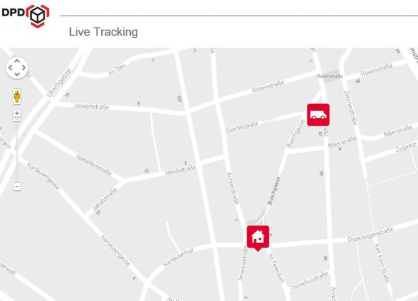 DPD Live Tracking