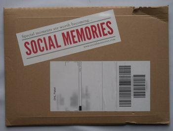 Fotobuch Social Memories Verpackung