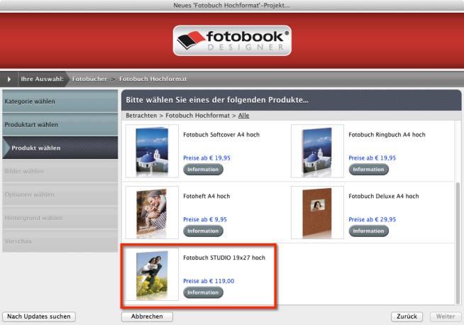 Fotobuch Studio fotobook.de
