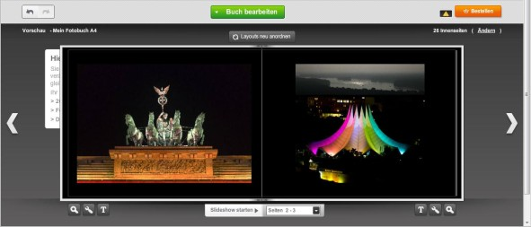 Fotobuch Vorschau Photobox