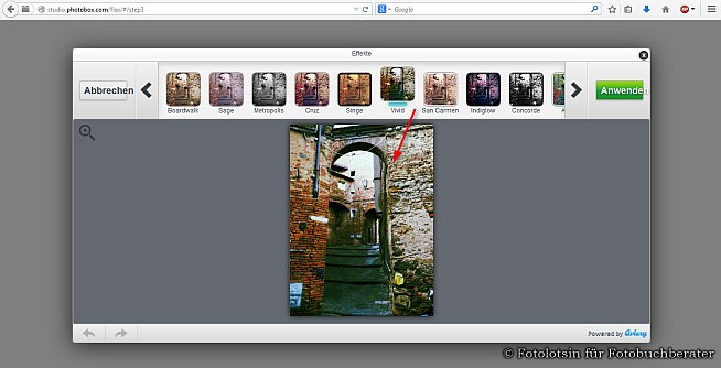 Fotobücher erstellen bei Photobox