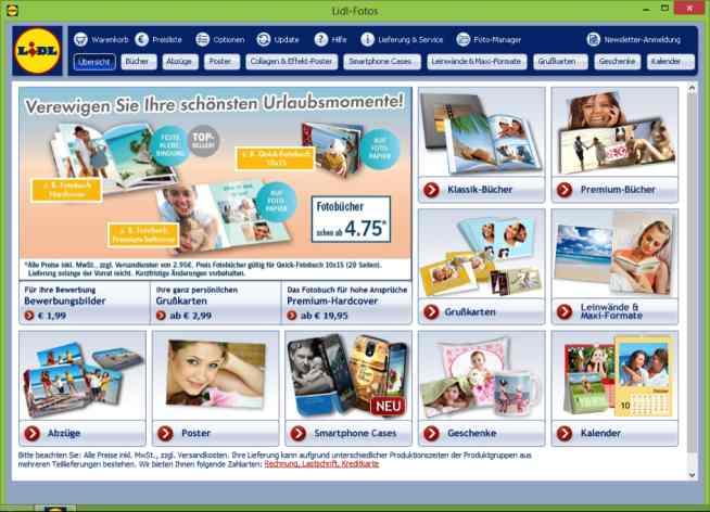 Lidl Homepage