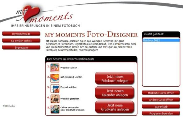 Mymoments Fotodesigner