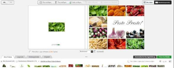 Onlineeditor Auswahl verkleinern