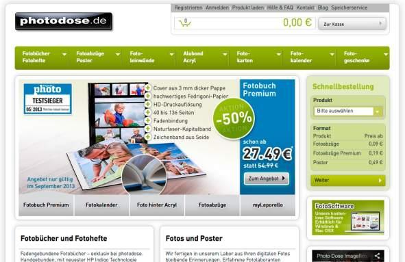 PhotoDose Produktübersicht