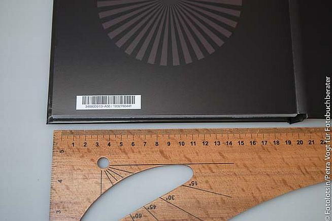 Photobox Buchergebnis Barcode Innenseite