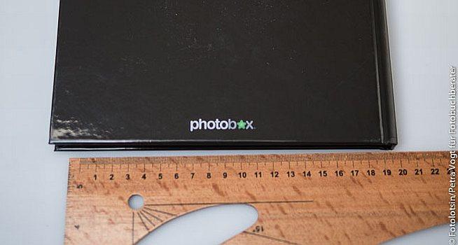Photobox Buchergebnis Logo Rückseite
