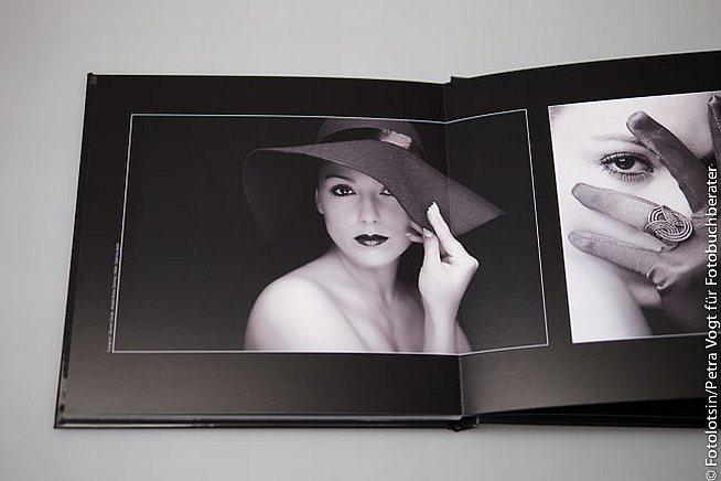 Photobox Buchergebnis Schwarz Weiß