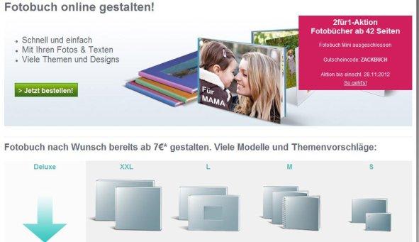 Photobox Fotobuch Auswahl