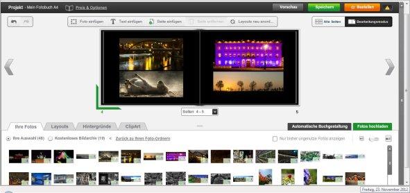 Photobox Fotobuch erstellen