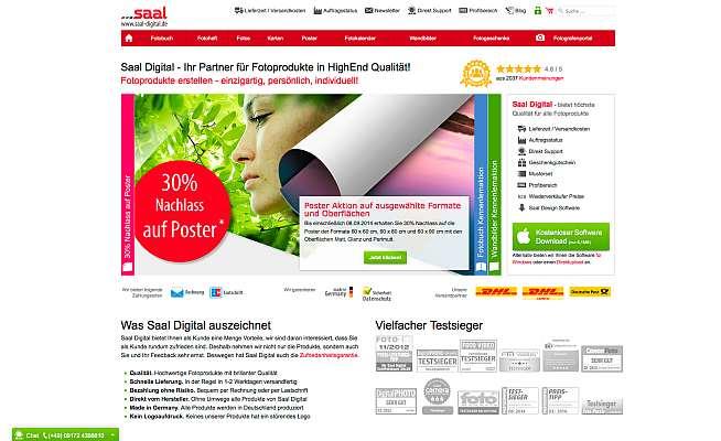 Saal Homepage