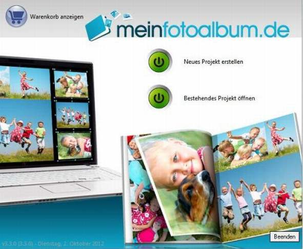 Software meinfotoalbum.de