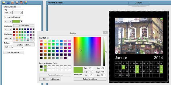 Software Kalendariumsbearbeitung