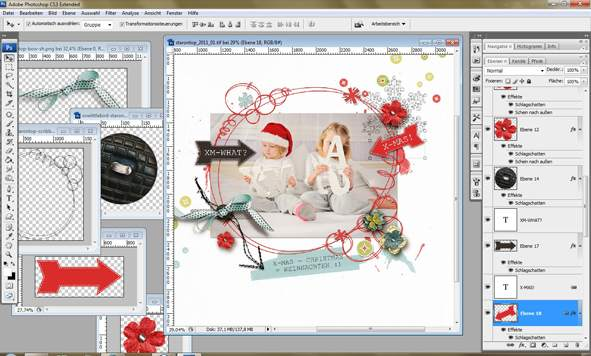 digital scrapbooking anleitung ideen f r layouts zubeh r album und papier. Black Bedroom Furniture Sets. Home Design Ideas