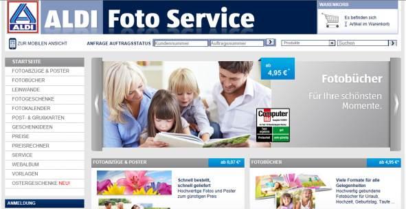 aldi homepage Foto