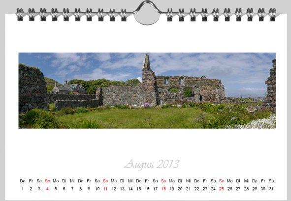 Aldi Kalender Egebnis digitale Vorlage