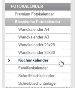 Aldi Fotokalender Produktpalette Digitaldruck