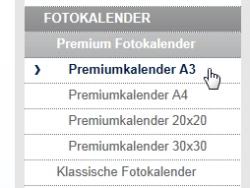 Aldi Fotokalender Produktpalette premium