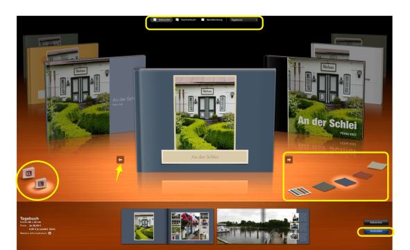 Fotobuch Apple Startscreen