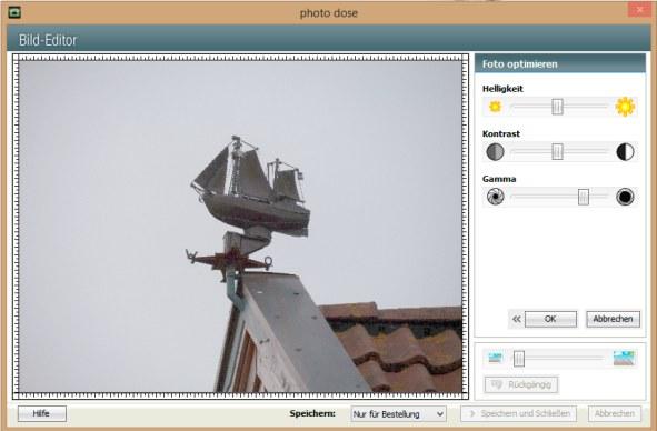 Bildbearbeitung Gamma ipLabs