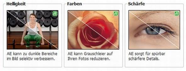 bildoptimierung fotobuch.de AE Vorteile