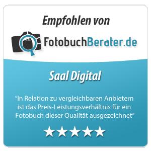 Empfohlen von fotobuchberater.de
