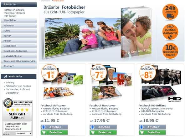 fotobuchexpress24 fotobuch Überblick
