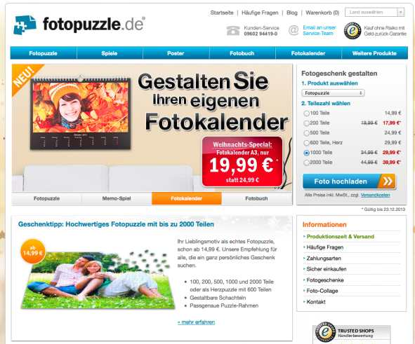 fotopuzzle homepage