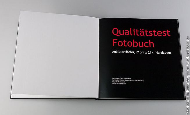 iFolor Fotobuch Test