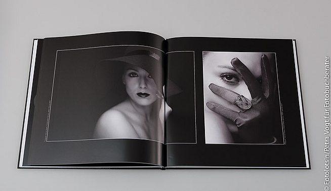 iFolor Fotobuch schwarz weiss