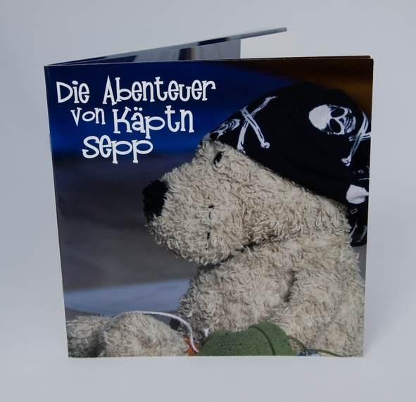 Fotobuch Kinderbuch kaeptn Sepp
