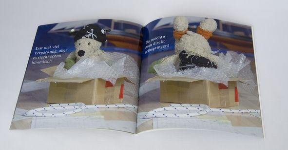 Kinder Fotobuch Kaeptn Sepp innen