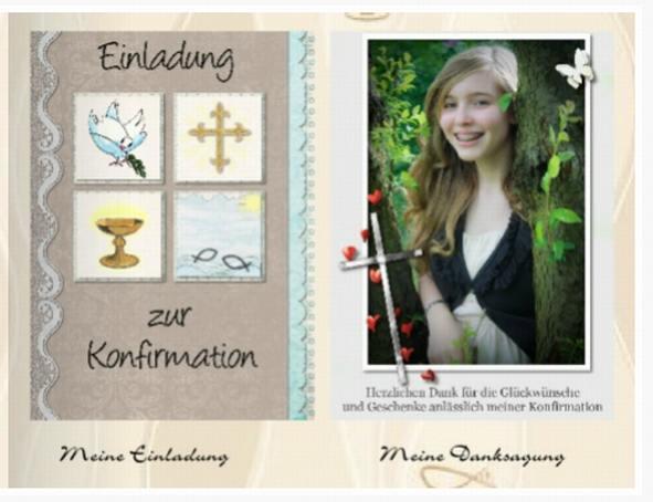 Einladung Kommunion Fotobuch