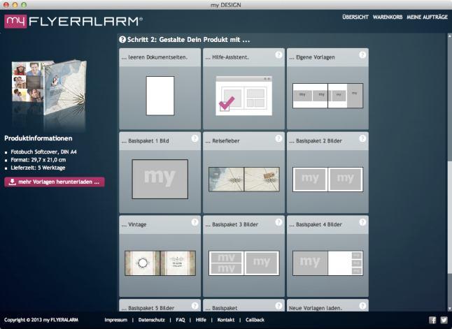 myflyeralarm-designvarianten