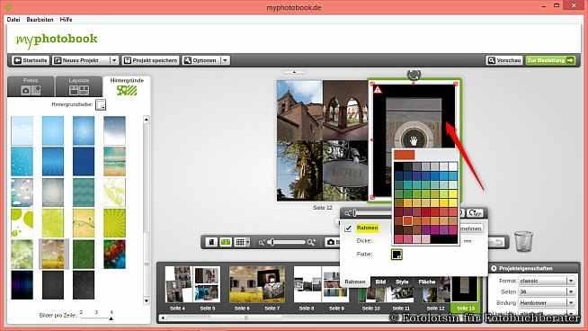 myphotobook Fotobücher Rahmen