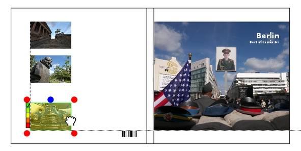 Fotobuch Pixelnet Hilfslinien