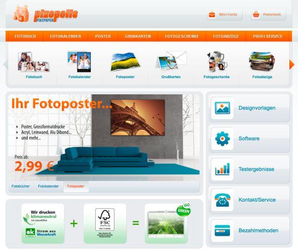 pixopolis homepage